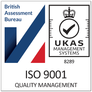 ISO 9001 Certification Badge