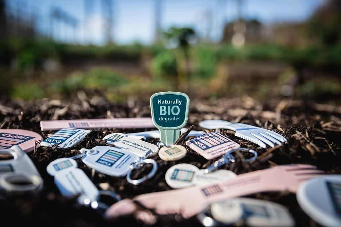 Products in compost biodegrading